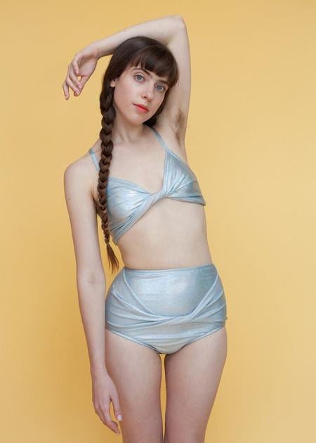 Samantha Pleet Vortex Bikini Bottoms