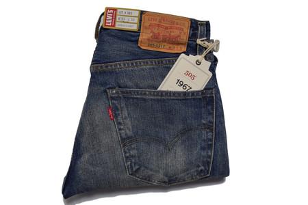 Levis Vintage Clothing 1967 505 Jeans Dropout Boogie Wash