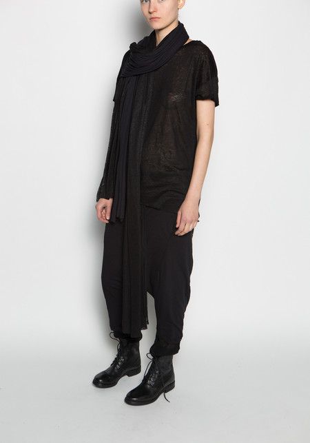 Thom / Krom Jersey Double Fabric Scarf