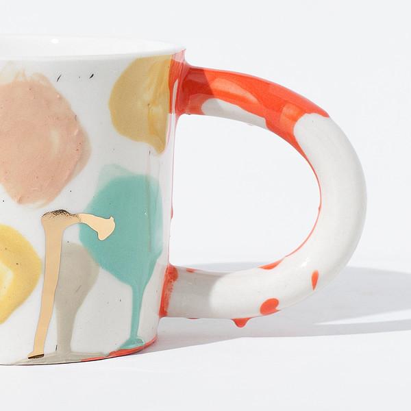 The Pursuits of Happiness Artist Mug