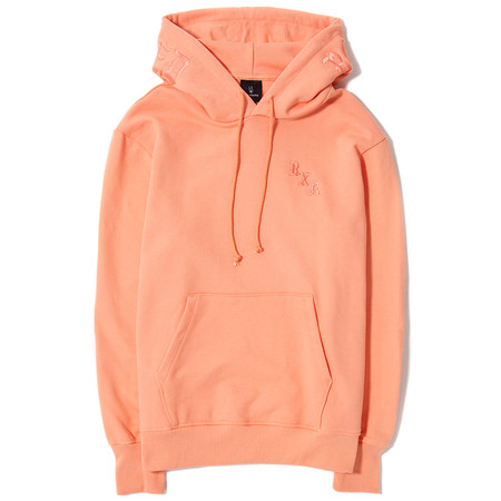 BORN X RAISED TONAL PULLOVER HOODY / PEACH