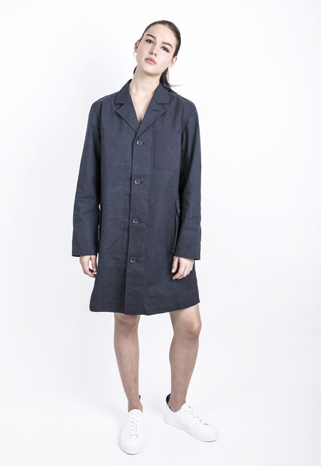 Unisex Pocket Shop Coat