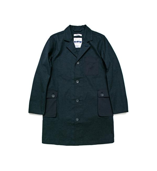 Unisex Pocket Shop Coat
