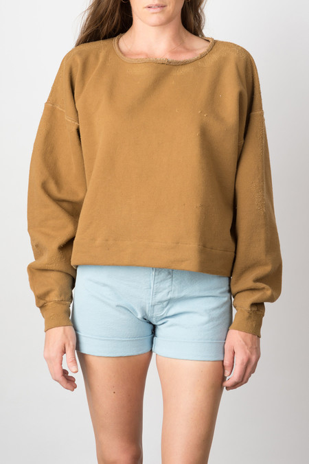 Rachel Comey Mingle Sweatshirt In Bark