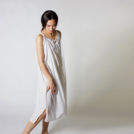 DOMI SLEEVELESS NIGHTGOWN