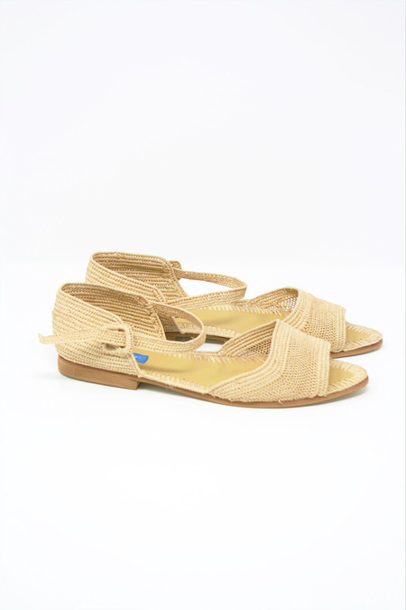 Proud Mary Strappy Sandal in Natural