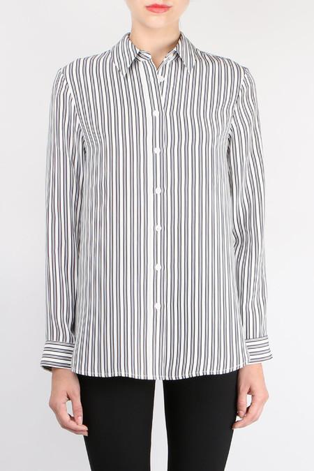 Jenni Kayne Striped Boyfriend Shirt