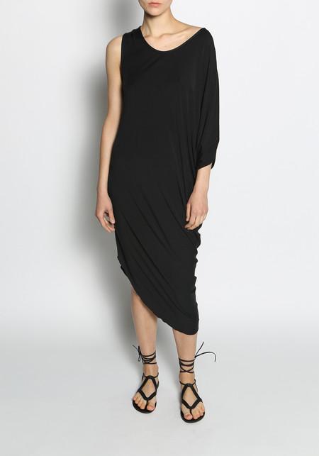KES Elongated Cotton Asymmetric Dress