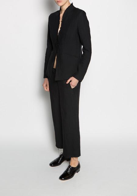 Thom / Krom High Waisted Wide Leg Hose Trouser