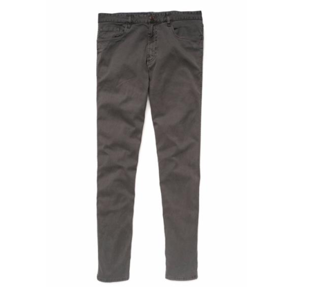 Faherty Brand Faherty Comfort Twill Jean Charcoal