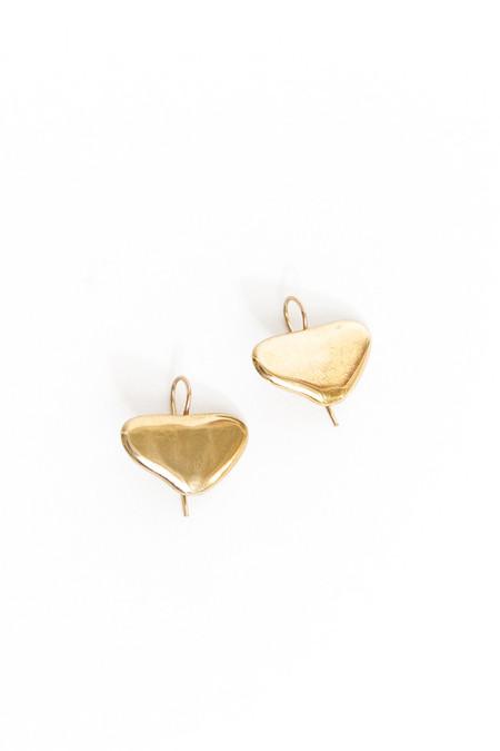 Seaworthy Michelle Earrings - Brass