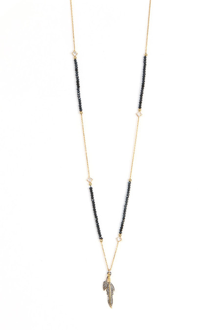 Nickho Rey Midnight Indian Gold Necklace