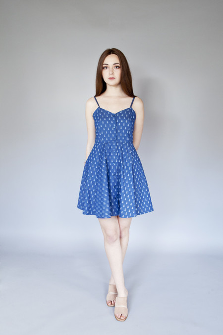 Meemoza Clothing Meemoza – Erin Dress Pineapple Print