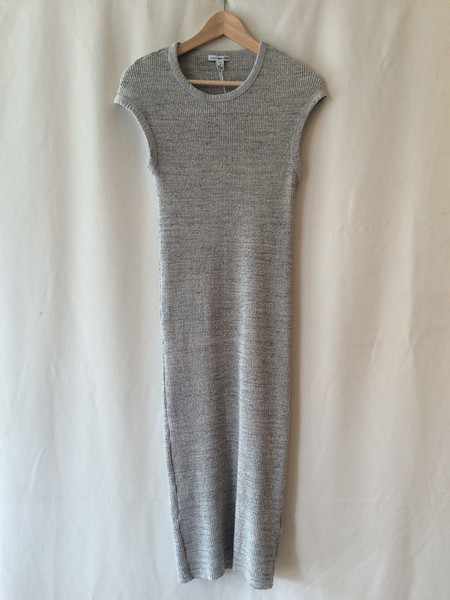 James Perse Grey Knit Dress