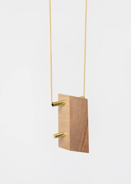 Stable State Maple Maderite Wood Necklace