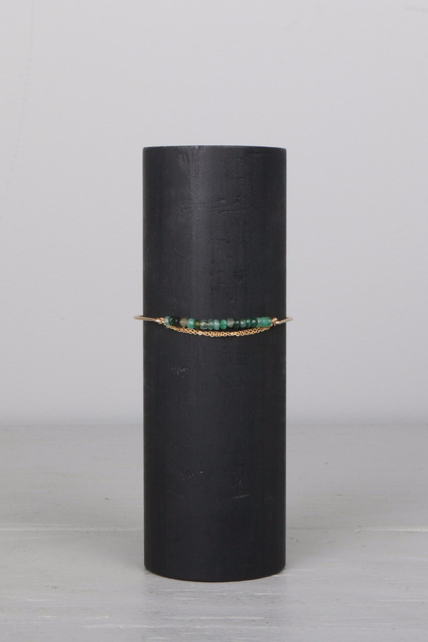 Dafne Green Sapphire Bracelet