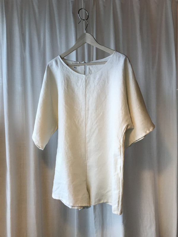 Nahanni Arntzen Shorts jumper - ivory linen