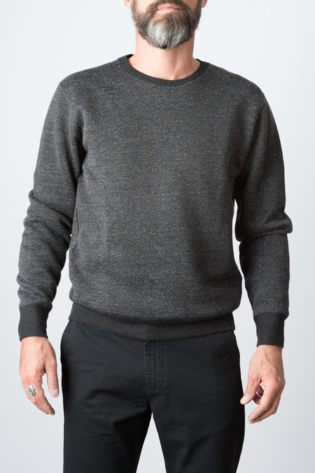 RRL Fleece Crewneck In Black