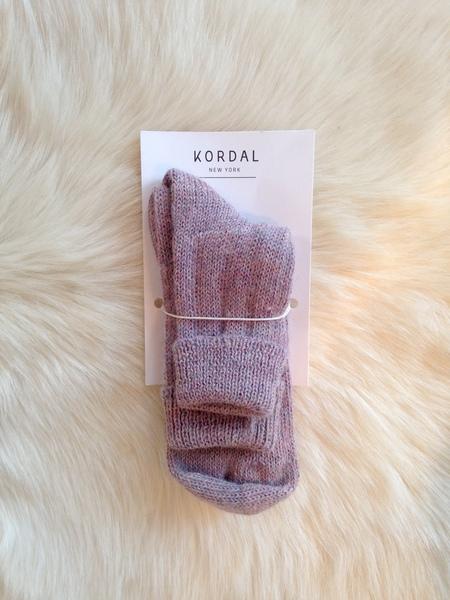Kordal Alpaca Knit Sock