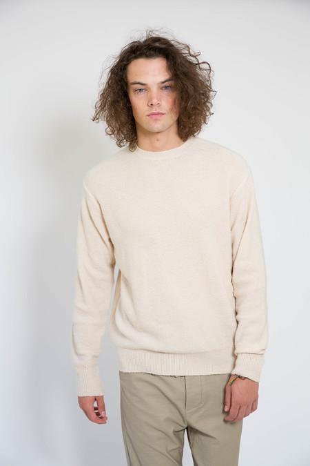 Maiden Noir Piled Crew Sweater Natural