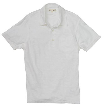 Alex Mill Rugby Polo - White