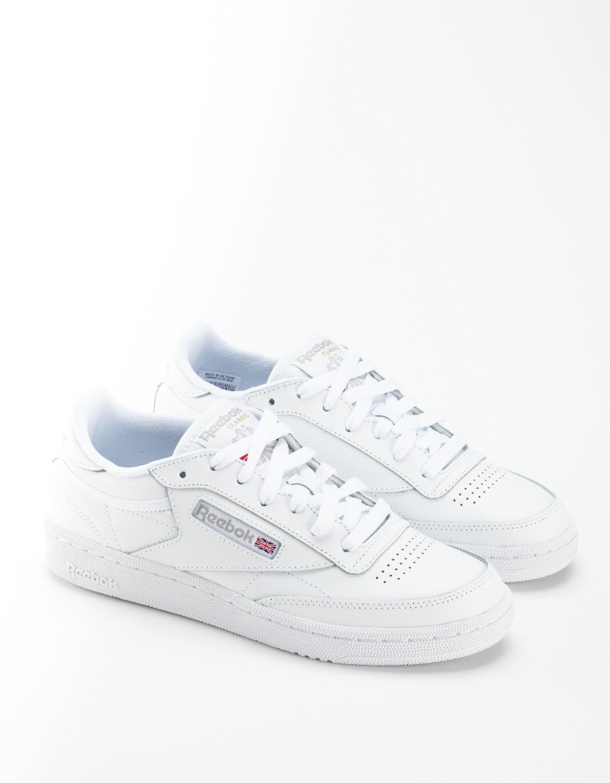 82aa1c72a646c Reebok Club C 85 Sneakers - White Light Grey
