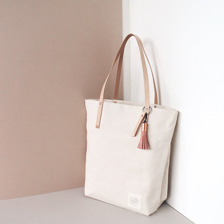 Scout & Catalogue San Miguel Tote - Natural Canvas