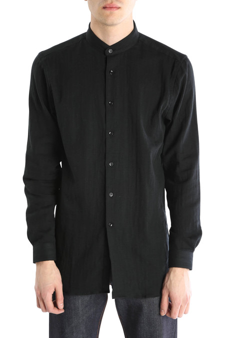 Naked & Famous Double Weave Slub Long Shirt
