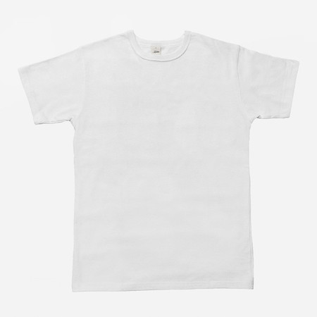 3Sixteen Heavyweight Plain T-Shirt - White