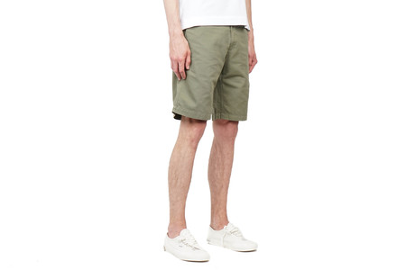 Norse Projects HARRI OTTOMAN SHORTS - DRIED OLIVE
