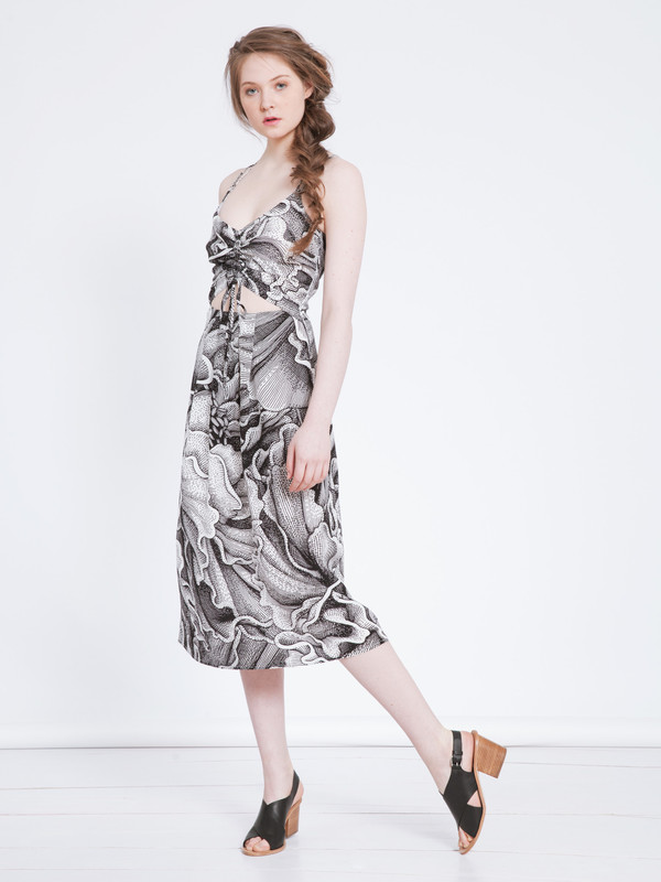 SILVAE DIDEROT DRESS