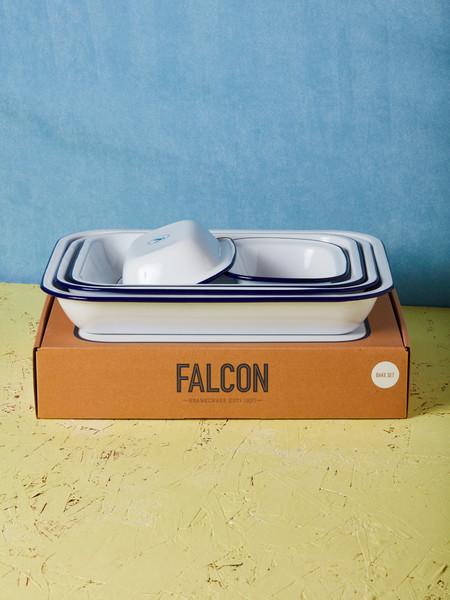 Falcon Enamelware 5 Piece Bake Set