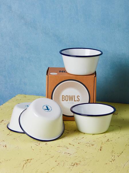 Falcon Enamelware Set of 4 Bowls