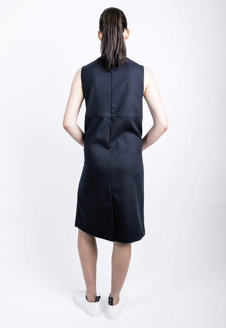 ROCKET X LUNCH Ribbed High Collar Dress