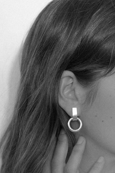 MM Druck Silver Bianca Earrings
