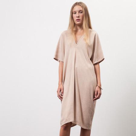 Osei-Duro Sola Panel Dress - Onion Skin Dye