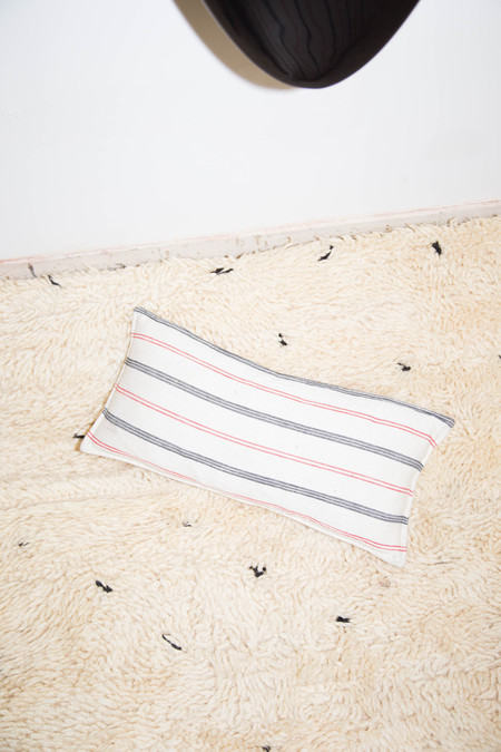 Heidi Merrick Cotton Striped Rectangle Pillow