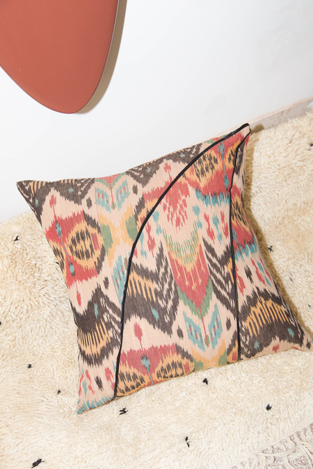Heidi Merrick Ikat Floor Pillow