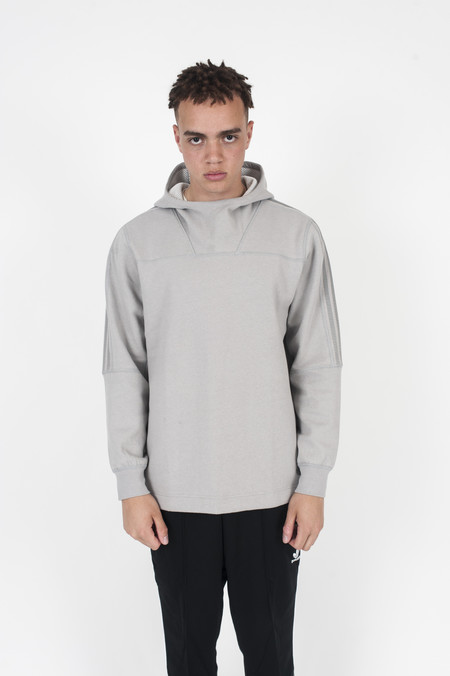 Adidas Wings + Horns Bonded Linen Hoodie Solid Grey