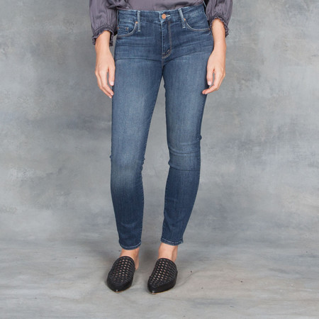 Mother Denim Mother Jeans The Looker Crop Here Kitty Kitty