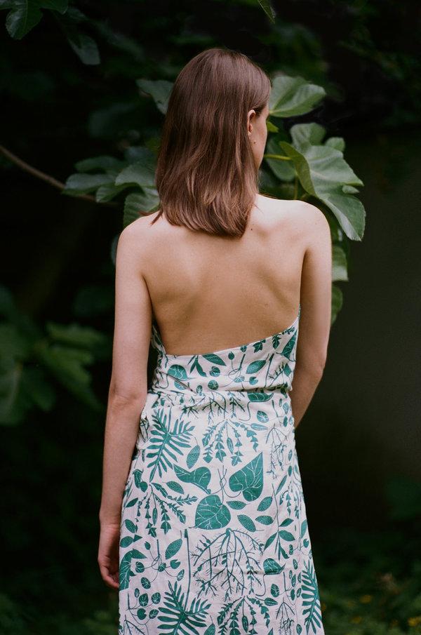 Sunja Link Apron Print Dress