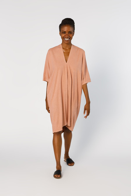 Miranda Bennett Ed. VIII Muse Dress, Silk Noil in Nico