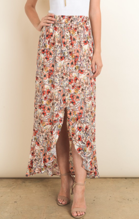Sunday Supply Co. Floral Max Skirt