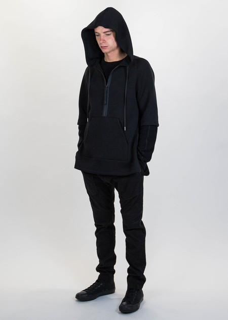 Helmut Lang Side Laced Pullover