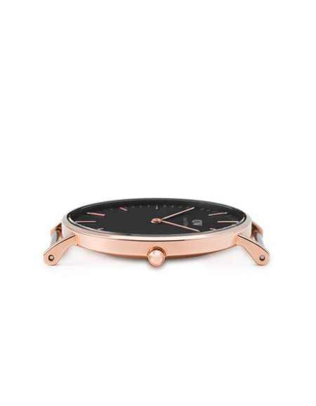 Daniel Wellington Classic Sheffield Watch - Black/Rose Gold