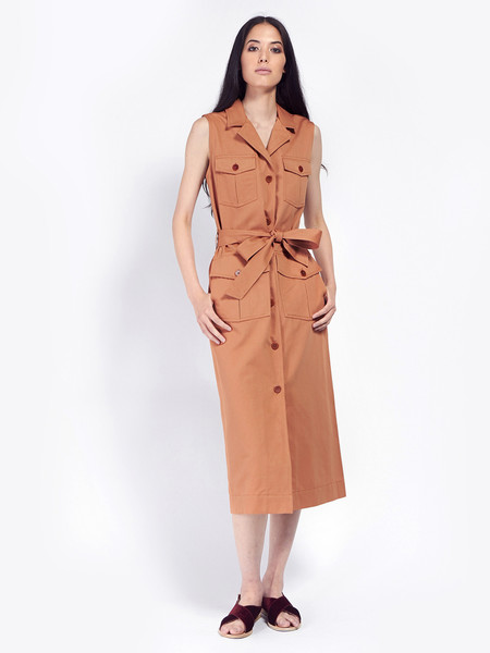 Rodebjer Junebug Twill Dress