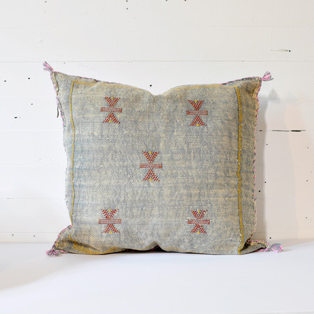 Meus CACTUS KILIM CUSHION COVERS - GREY