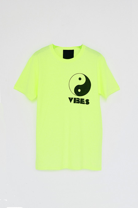 Unisex Assembly New York Cotton Vibes T-Shirt - Neon