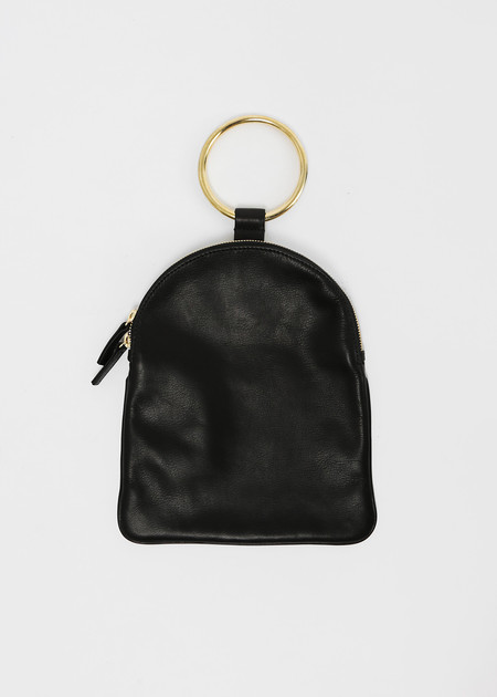 Otaat / Meyers Collective Large Ring Pouch in Black