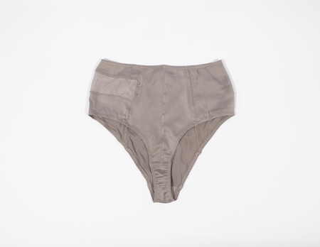 KENT POW High Waisted Brief - Cool Grey